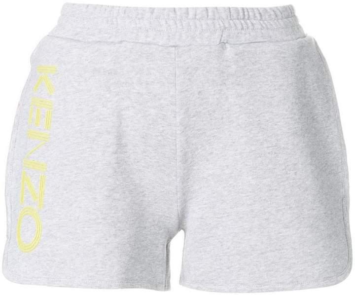 relaxed logo shorts