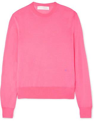 Victoria Beckham Merino Wool Sweater - Pink