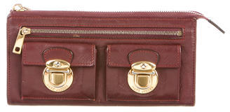 Marc Jacobs Marc Jacobs Leather Zip Wallet