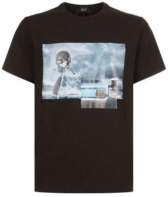 N°21 Photo Print T-Shirt