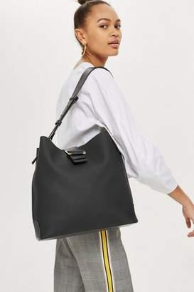 Seema buckle hobo bag