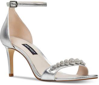 4fe672a093e Nine West Allaboard Evening Sandals Women Shoes