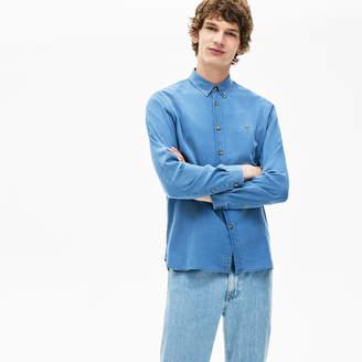 0e7b9113b7 Lacoste Denim Men's Shirts - ShopStyle