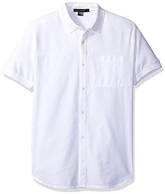 French Connection Men's Hybrid Polo/Shirt