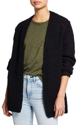 Rag & Bone Arizona Chunky Open-Front Cardigan