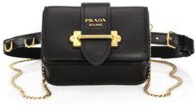 Prada Marsupio Leather Belt Bag $1,660 thestylecure.com