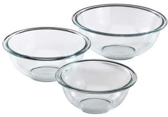 Pyrex Prepware 3 Piece Mixing Bowl Set