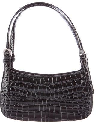 MoschinoMoschino Embossed Leather Bag