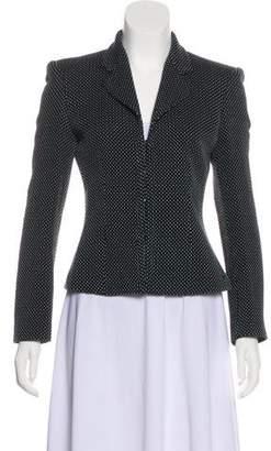 Emporio Armani Wool Structured Blazer