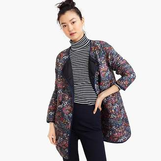 Reversible puffer jacket in Liberty® floral with Primaloft®