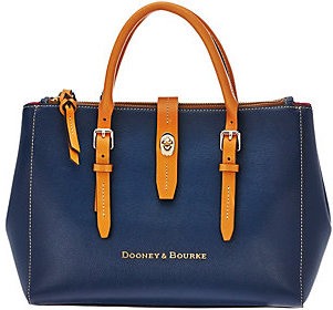 As Is Dooney & Bourke Embossed Pebble Leather Miller Satchel $99 thestylecure.com