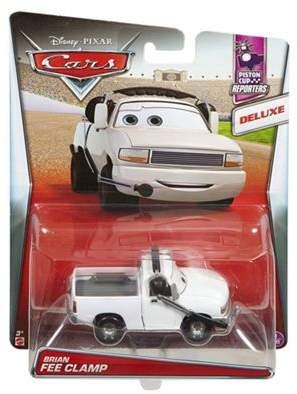 Cars Disney Pixar Die-Cast Oversized Brian Fee Clamp