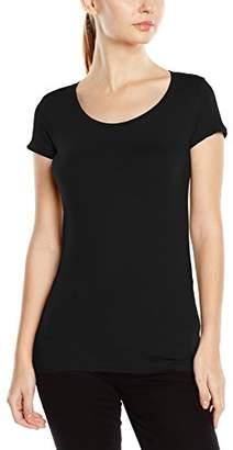 Stedman Apparel Women's Claire Crew Neck/ST9700 Premium Slim Fit Short Sleeve T-Shirt,(Manufacturer Size:X-Large)