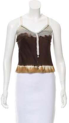 Prada Silk Embellished Top