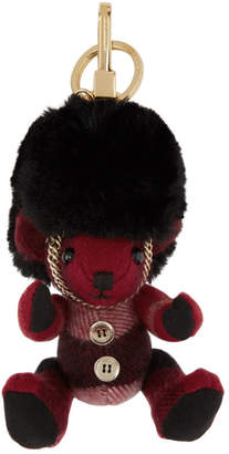 Burberry Red Thomas Busby Keychain