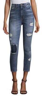 Derek Lam 10 Crosby Tali Distressed Skinny Jeans