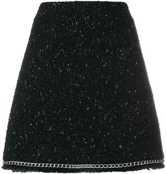 MICHAEL Michael Kors chain trim skirt