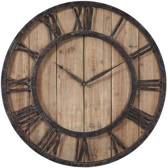 Uttermost Powell Wood Wall Clock
