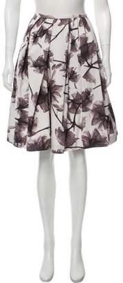 Jason Wu Pleated Flared Skirt