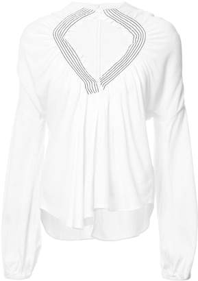 Rachel Comey gathered front blouse