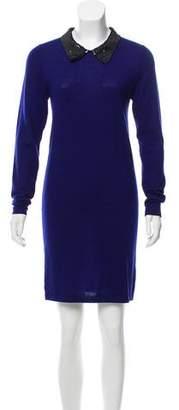 Markus Lupfer Wool Mini Dress