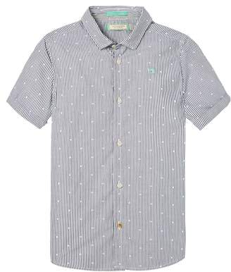 Scotch & Soda Short Sleeved Shirt Slim fit
