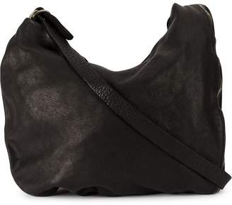 Guidi zipped shoulder bag