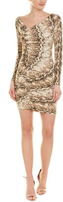 Ronny Kobo Asymmetric Sheath Dress
