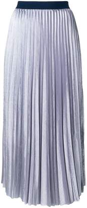 Semi-Couture Semicouture pleated midi skirt