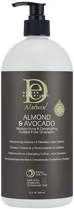 Design Essentials Natural Almond & Avocado Moisturizing and Detangling Sulfate Free Shampoo - 32 oz.