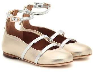 Malone Souliers minismalls Robyn Smalls leather ballet flats