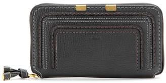 Chloé Marcie zip-around leather wallet