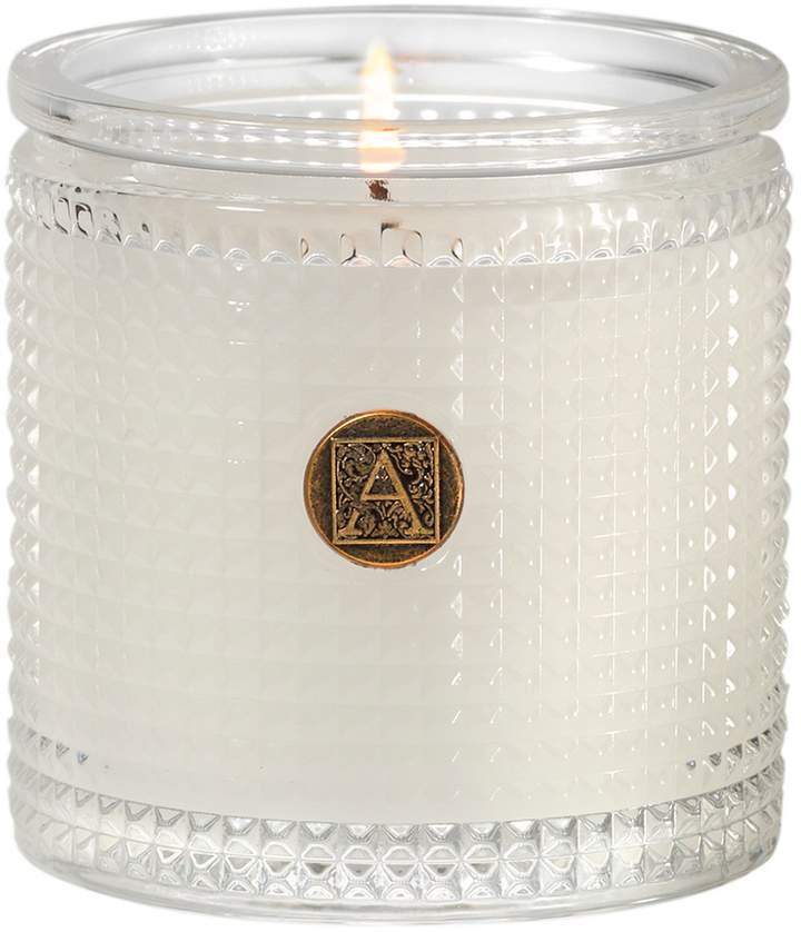 Aromatique The Smell of Spring Textured Glass Candle
