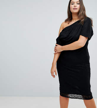 1492a9e3aa Asos Black Lace Midi Dresses - ShopStyle Australia