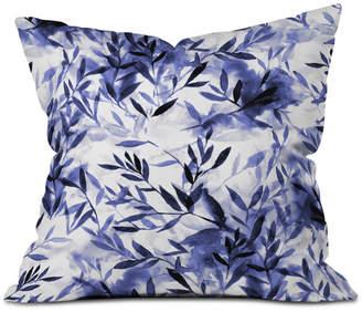 Deny Designs Jacqueline Maldonado Changes Indigo Throw Pillow