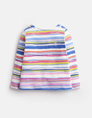 Joules Harbour print JERSEY PRINTED TOP
