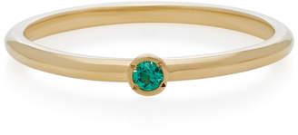 Octavia Elizabeth 18K Gold Emerald Ring