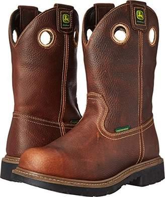 John Deere Men's 11 BRN Waterproof Steel Toe EH PO Work Boot