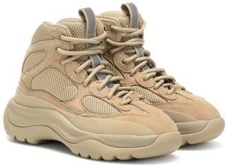 Yeezy Suede-paneled sneakers (SEASON 8)