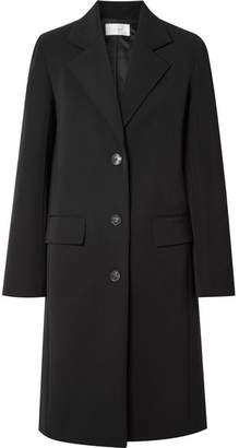 The Row Teymon Cotton-blend Coat - Black