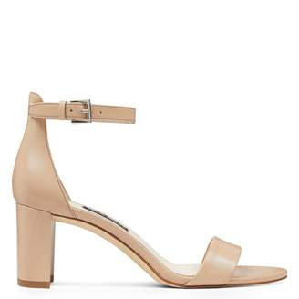a787089921a6 Pruce Ankle Strap Block Heel Sandals · Nine West ...