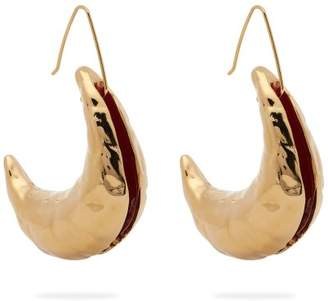 Marni Moon Drop Earrings - Womens - Gold