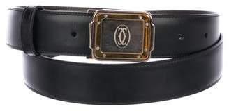 Cartier Interlocking CC Reversible Leather Belt