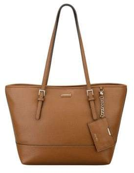 Nine West Ava Cobblestone Faux Leather Tote