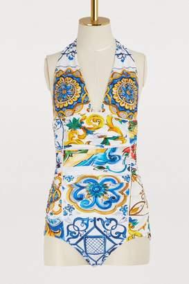 Dolce & Gabbana Maiolica swimsuit