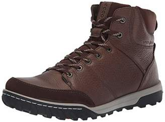 Ecco Men's Urban Lifestyle High Hiking Shoe Coffee/ely