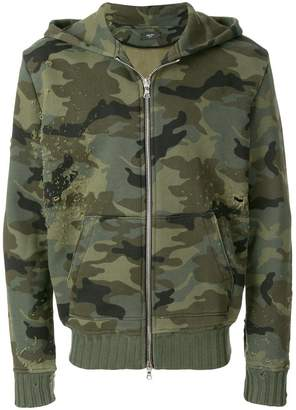 Amiri Shotgun zip hoodie