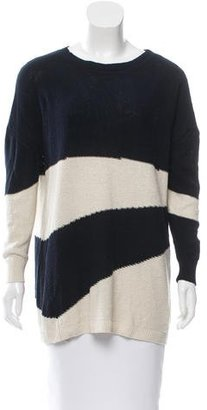 Boy. by Band of Outsiders Silk Striped Sweater $80 thestylecure.com