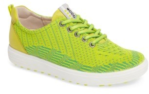 Women's Ecco Casual Hybrid Knit Golf Sneaker $159.95 thestylecure.com