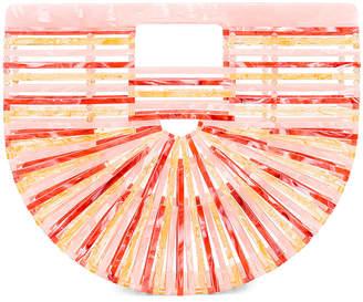 Cult Gaia Small Acrylic Ark Bag in Citrus Multi | FWRD